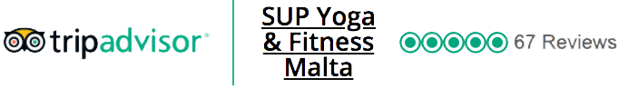Five star reviews for SUP Yoga & Fitness Malta